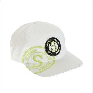 MAKE OFFER Supreme Hat Stamp 6 Panel Hat FW20